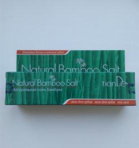 Гель для зубов Натуральная соль бамбука
