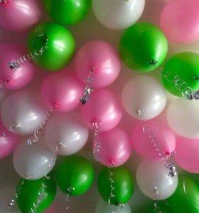 Гелиевые шары 30 см - 30₽