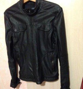 Куртка, прессованная кожа