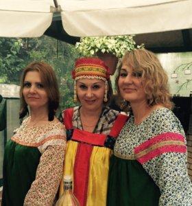 Русские народные костюмы напрокат