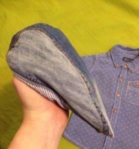 Рубашка и кепка Некст детские
