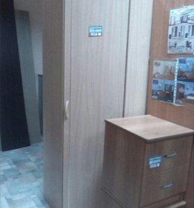 Угловой шкаф Л-10 (0,8*0,8)х1,9х0,45