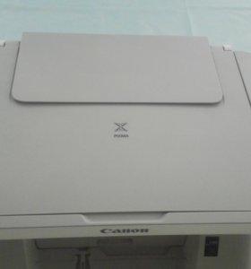 Принтер+сканер Canon