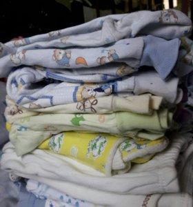 Одежда для новорождёных мальчиков.