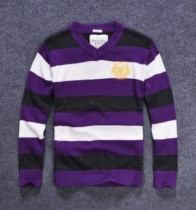 Мужской брендоввй свитер a&F размер L