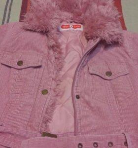 Пальто на девочку C&A