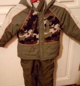 Куртка Детская зимняя, штаны и шапка