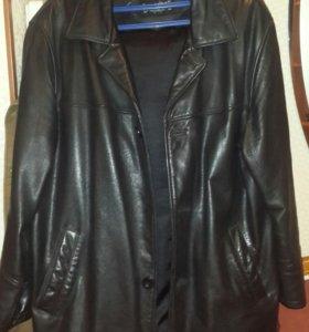 Куртка кожа муж