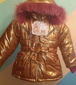 Куртка зима 116-122! Новая!