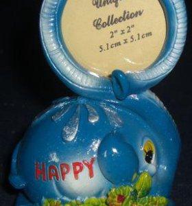 Подарок Фоторамка детская слоник📷