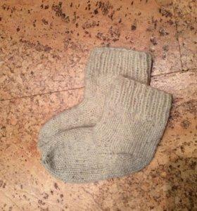 Носочки шерстяные самовяз