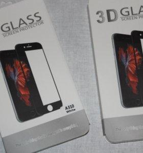 3D закаленное стекло samsung A3 2016года