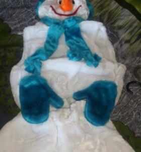 Новогодний  снеговика