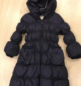 Пальто зима 3-4 года