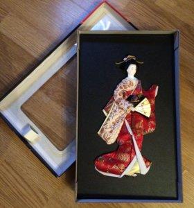 Кукла-панно японская