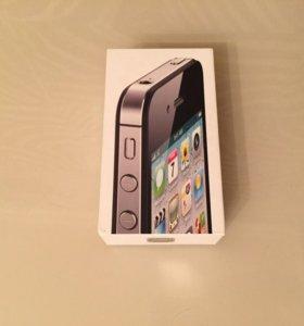 Коробка от iPhone 4
