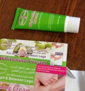 Крем для отбеливания кожи после бритья