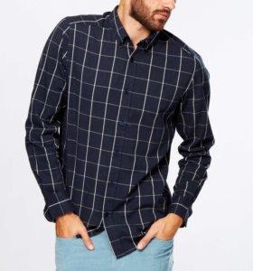 Новая фланелевая рубашка kiabi
