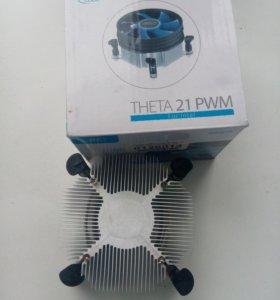 Радиатор от кулера