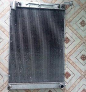 Радиатор тойота харриер 330 , 1mz