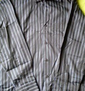 Брюки, рубашка, пара галстуков