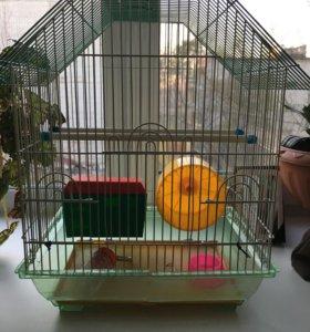 Клетка для попугая или хомячка