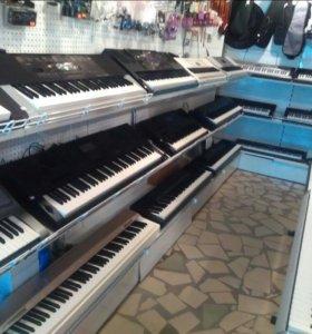 Цифр фортепиано и синтезаторы