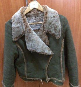 Дубленка куртка искусственная