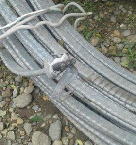 Трехфазный силовой кабель для прокладки под землей