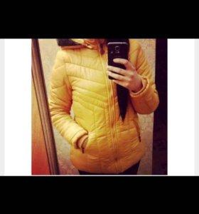 куртка дутик утепленый