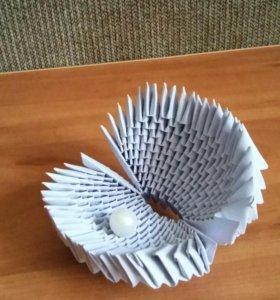 Ракушка из бумаги