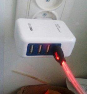 USB зарядное