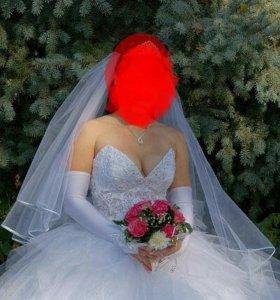 Срочно!!!Платье свадебное