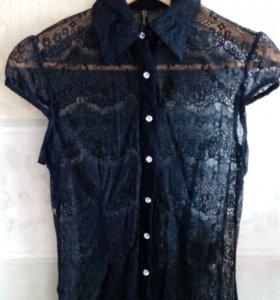 Блуза из кружева новая S