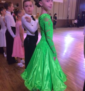 Платье для бальных спортивных танцев St