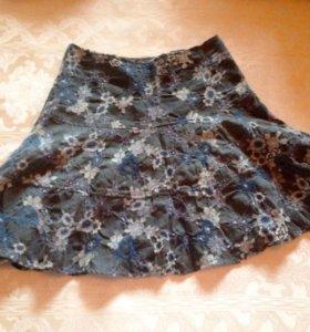 Итальянская шерстяная юбка