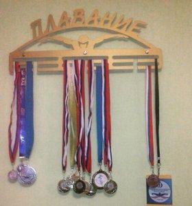 Держатель для медалей Плавание