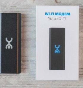 Yota модем 4G LTE WI-FI