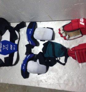 Накладки доя хокея