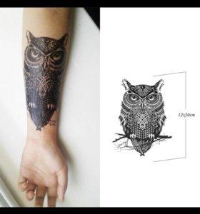 Временная Татуировка, в наличии 4 штуки.