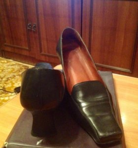 Даром туфли кожаные