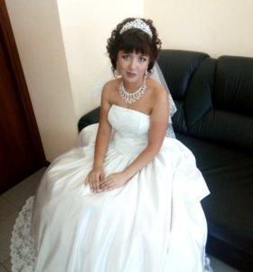 Свадебное платье + подарочки