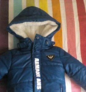 Новенькая курточка и тёплые штанишки.