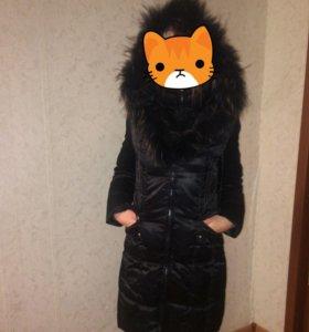 Пуховик-пальто  42-46
