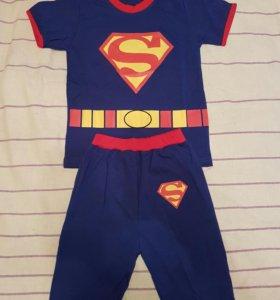 Новый костюм супермена рост 130
