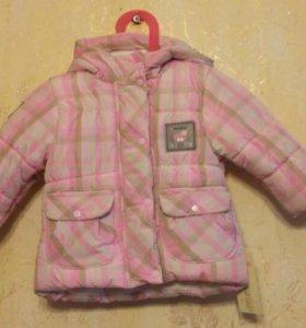 Куртка для девочки демисезонная.