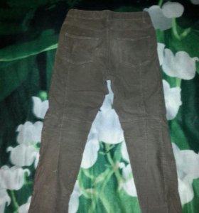 вельветовые брюки джинсы бойфренды