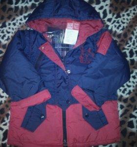 Куртка 110 ( новая )