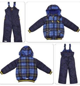 Куртка и полукомбинезон. Зима