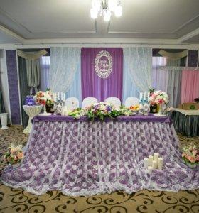 Оформление банкетных залов, свадебных авто